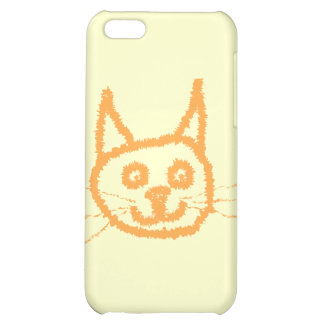 Cute Ginger Cat. Case For iPhone 5C
