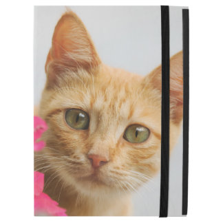 """Cute Ginger Cat Kitten Watching Portrait protect iPad Pro 12.9"""" Case"""