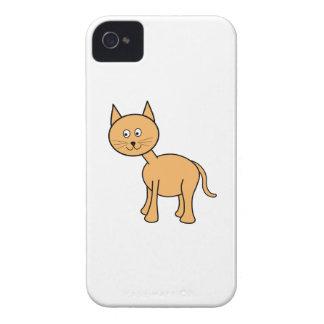 Cute Ginger Cat. Orange Cat Cartoon. iPhone 4 Case-Mate Case