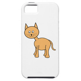 Cute Ginger Cat. Orange Cat Cartoon. iPhone SE/5/5s Case