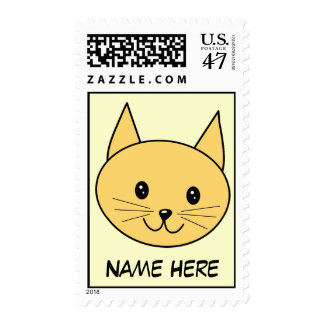 Cute Ginger Cat. Postage