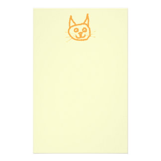 Cute Ginger Cat. Stationery