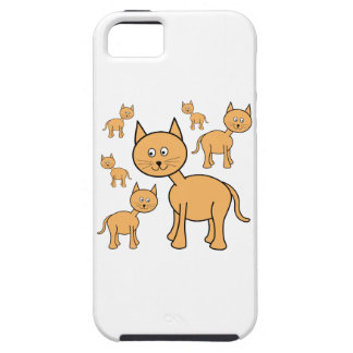 Cute Ginger Cats.  Cat Cartoon. iPhone SE/5/5s Case