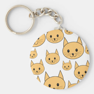 Cute Ginger Cats. Keychain