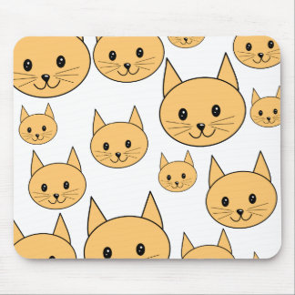 Cute Ginger Cats. Mouse Pad