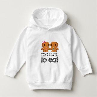 Cute Gingerbread Boy and Girl Cookies Hoodie