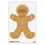 Cute Gingerbread Child Room Stickers