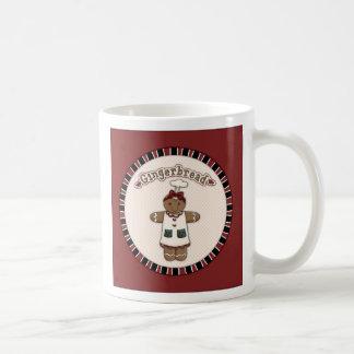 Cute Gingerbread Girl Mug