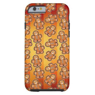cute gingerbread men iPhone 6, Tough Tough iPhone 6 Case