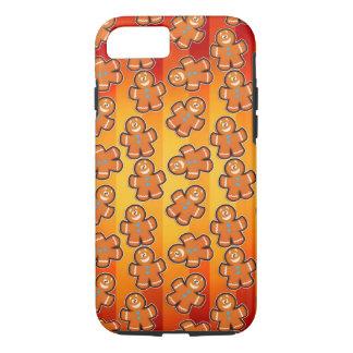 cute gingerbread men iPhone 7, Tough iPhone 7 Case