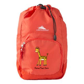 cute giraffe backpack