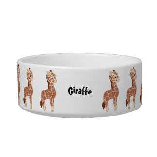 Cute Giraffe Bowl