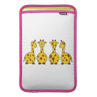 Cute Giraffe Cartoon MacBook Sleeve