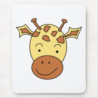 Cute Giraffe Cartoon. Mouse Pad