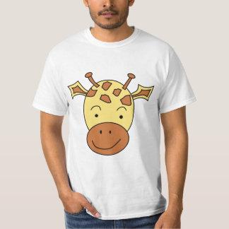 Cute Giraffe Cartoon. T-Shirt