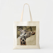 Cute Giraffe Close-up Arts Crafts Shopping Bag at Zazzle