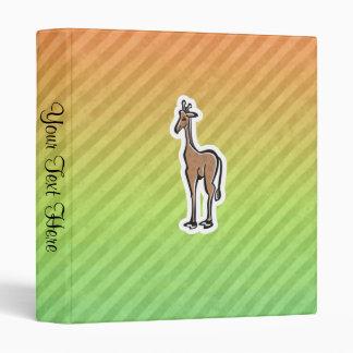 Cute Giraffe; Colorul Binder