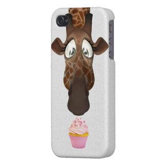 Cute Giraffe Cupcake Covers For iPhone 4
