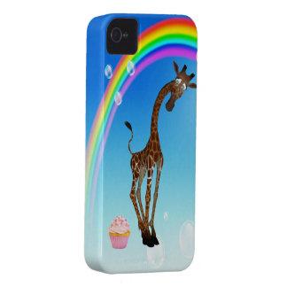 Cute Giraffe, Cupcake & Rainbow iPhone 4 Cases
