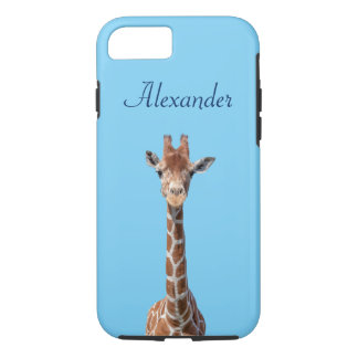 Cute giraffe face iPhone 8/7 case