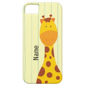 Cute Giraffe iPhone 5 Case Mate Case