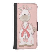Cute Giraffe iPhone SE/5/5s Wallet
