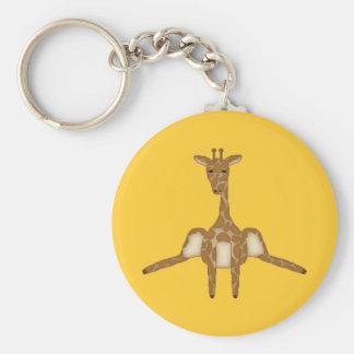 Cute Giraffe Keychain