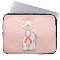 Cute Giraffe Laptop Sleeve