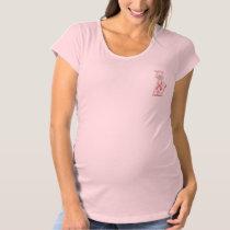 Cute Giraffe Maternity T-Shirt