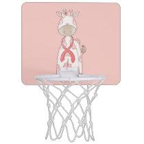 Cute Giraffe Mini Basketball Hoop