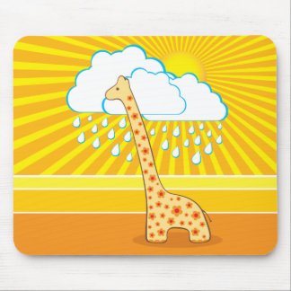 Cute Giraffe Mousepad