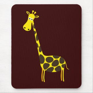 Cute Giraffe Mouse Pad