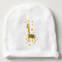Cute Giraffe Pattern Shirt Baby Baby Beanie