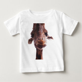 Cute Giraffe Picture on Shirt