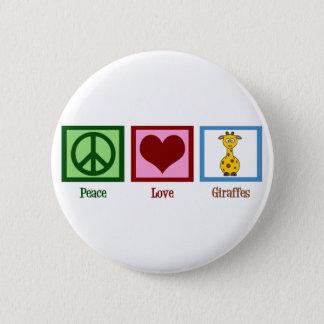 Cute Giraffe Pinback Button