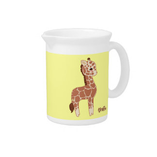 Cute Giraffe Pitcher