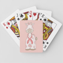 Cute Giraffe Playing Cards