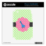 Cute giraffe polka dots decals for the iPhone 3GS