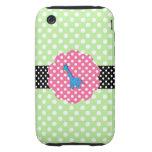 Cute giraffe polka dots iPhone 3 tough covers