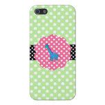Cute giraffe polka dots iPhone 5 cover