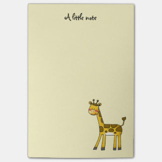 cute giraffe post-it notes