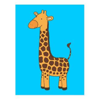 Cute Giraffe Postcard