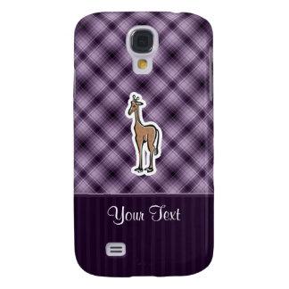 Cute Giraffe; Purple Samsung Galaxy S4 Cover