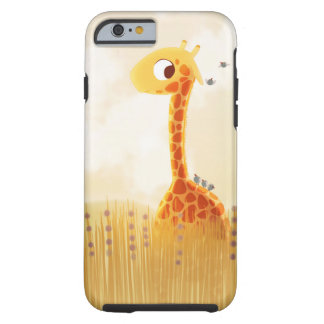 Cute Giraffe savannah iPhone 6 case