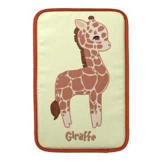 Cute Giraffe Sleeve For MacBook Air