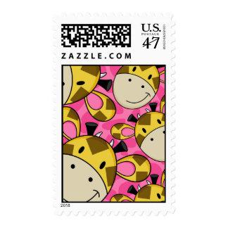 Cute Giraffe Stamp