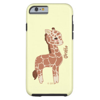 Cute Giraffe Tough iPhone 6 Case