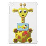 Cute Giraffe with Goldfish iPad Mini Cases