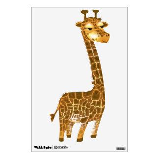 Cute Giraffe Zoo Amimal Wall Decal