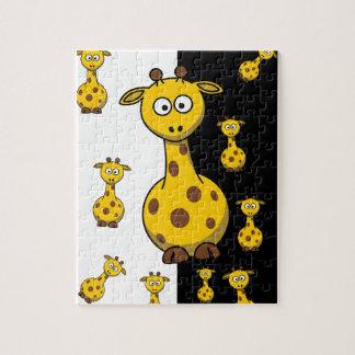 Cute Giraffes Jigsaw Puzzle